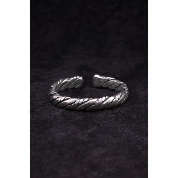 Bracelet en Cuir Marron Et...